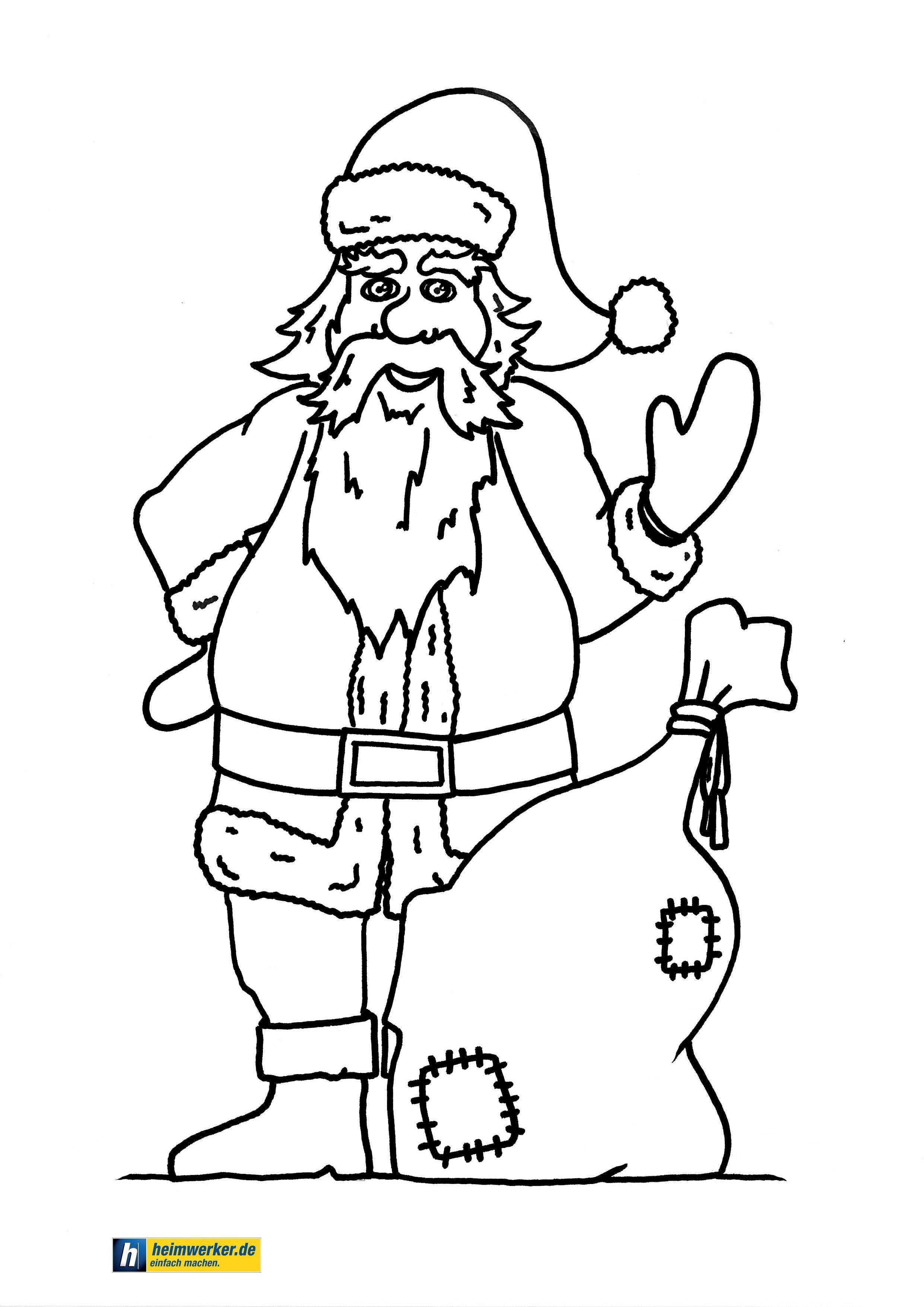 malvorlagen weihnachtsmann online  aiquruguay