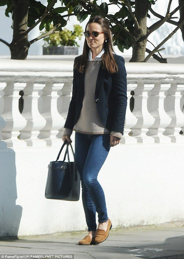 Pippa Middleton steps out in similar outfit to Kate