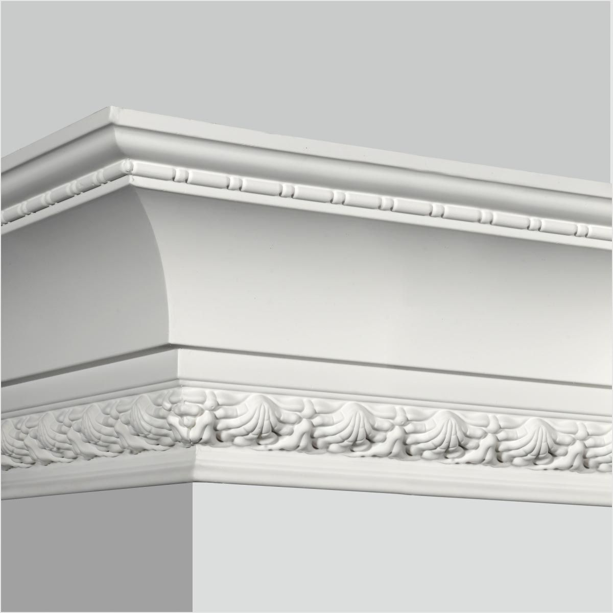Polyurethane Dentil decorative cornice moulding supplier Crown