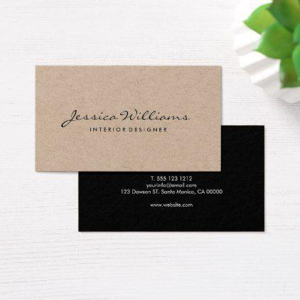 Hairstylist businesscards minimalist professional rustic kraft hairstylist businesscards minimalist professional rustic kraft business card colourmoves