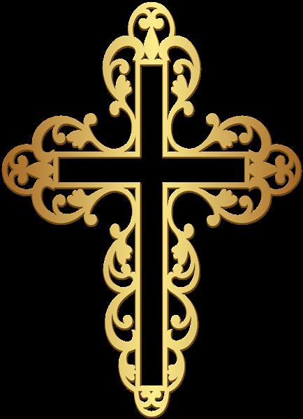 Golden Cross Png Clipart Clip Art Cross Drawing Free Clip Art