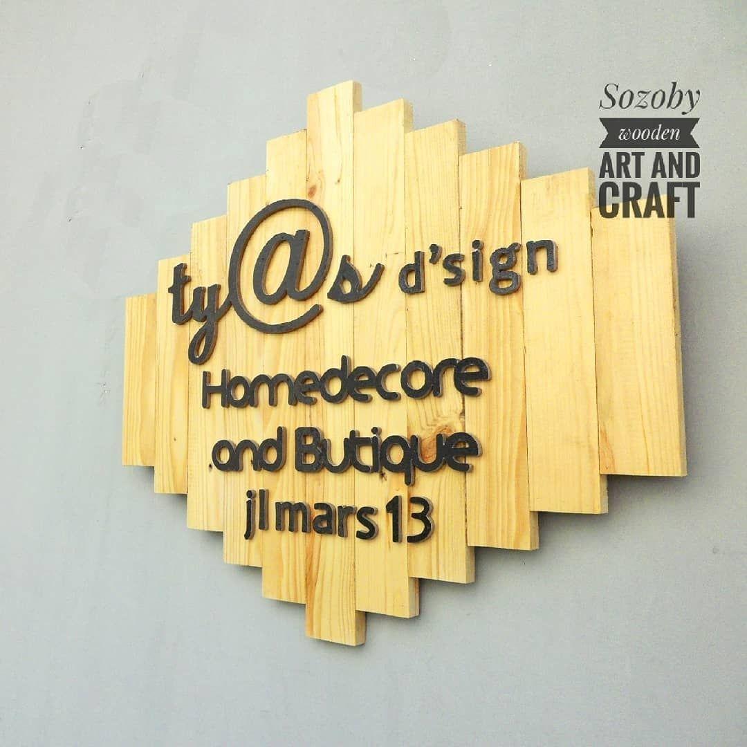 Wall decor Material kayu MDF Untuk pemesanan serta info dapat ...