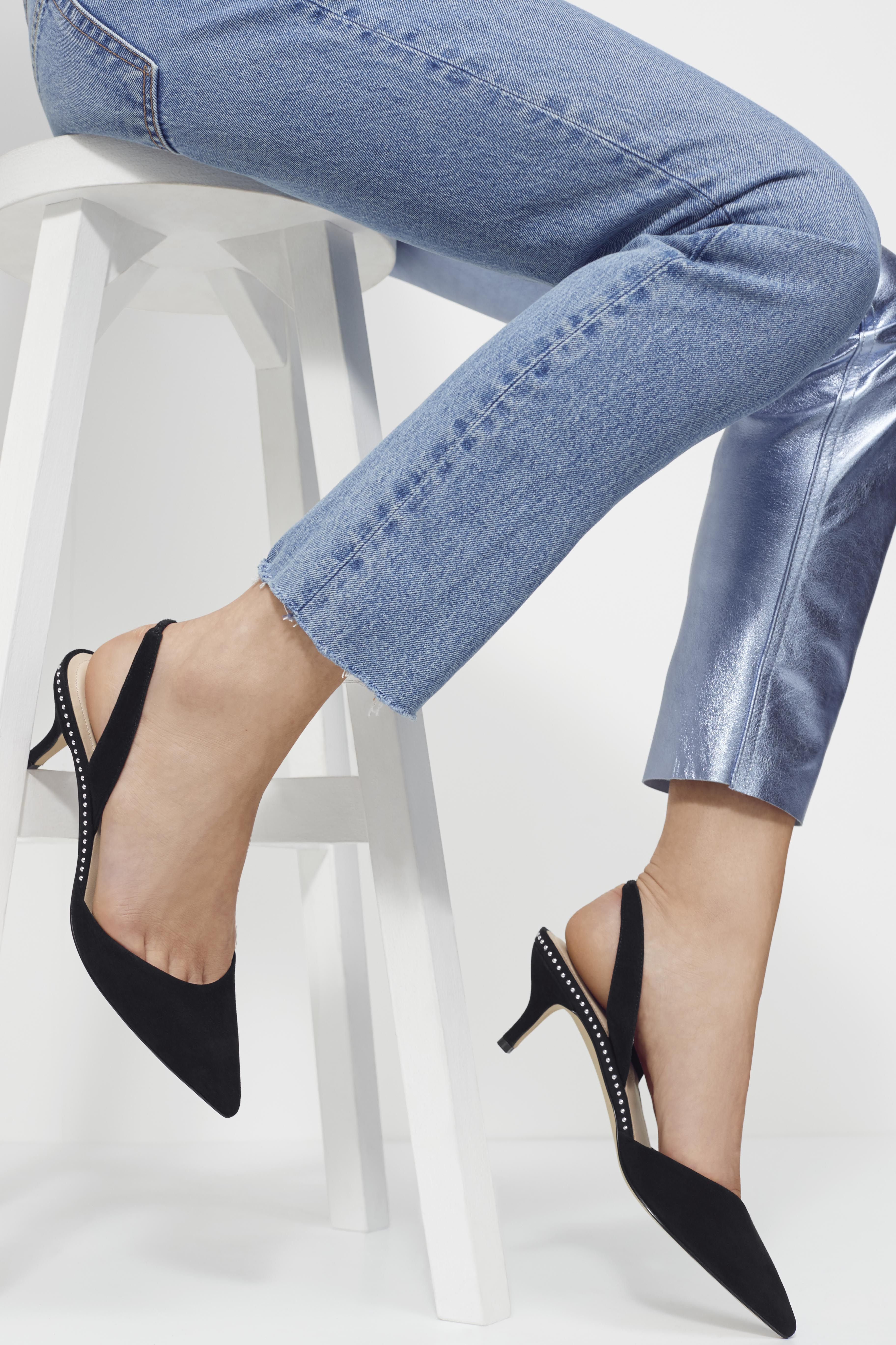 Add This Creranna Kitten Heel To Your Rotation For Days That Go From Desk To Dinner Heels Women Shoes Kitten Heel Shoes