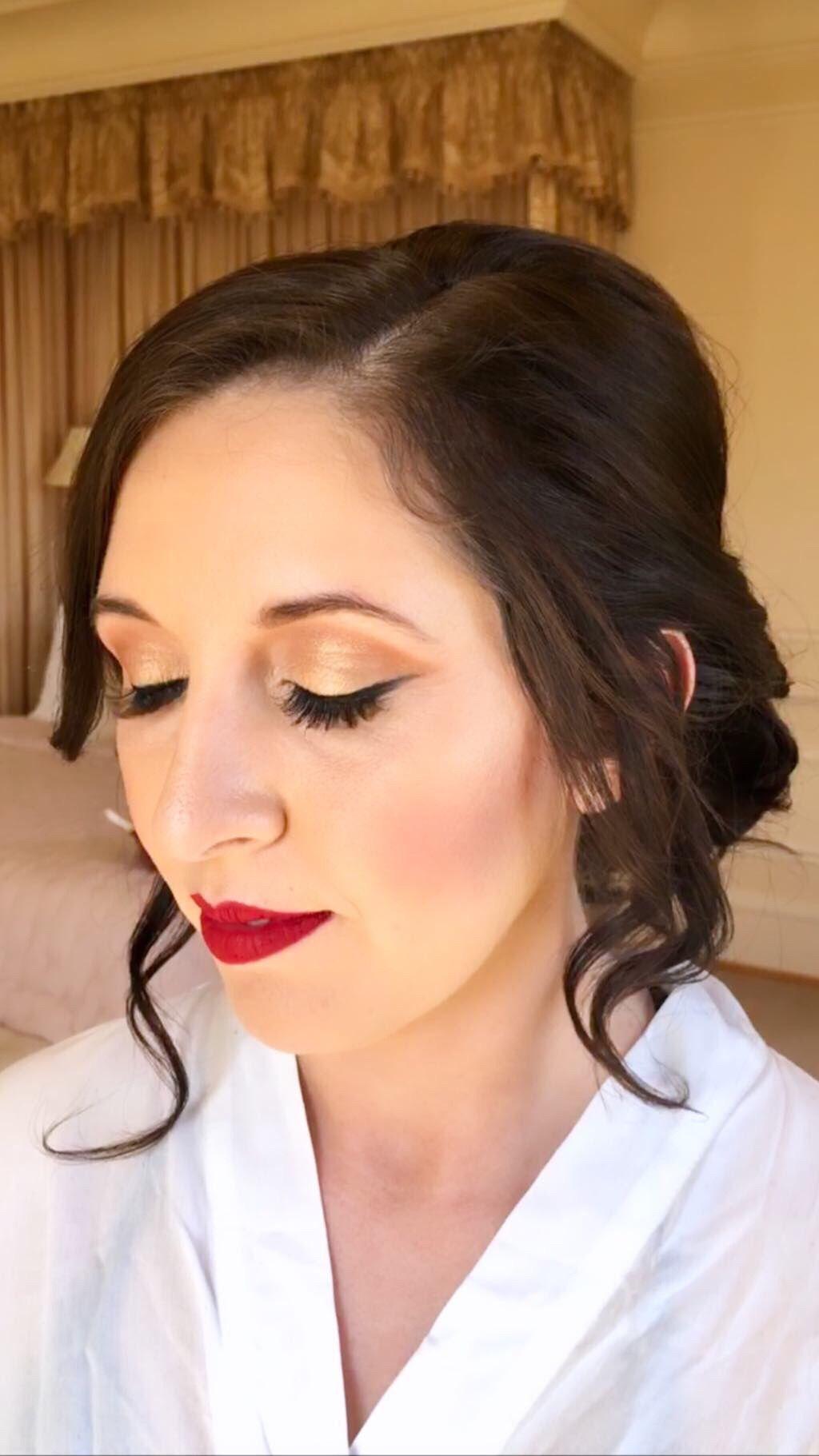 Bridal Gold Tone Makeup Bridal Makeup Wedding Makeup Airbrush Makeup