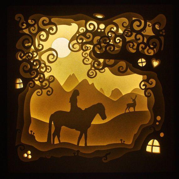 Die Dreamland Shadow Box   Shadowbox   Pinterest   Caja de luz ...