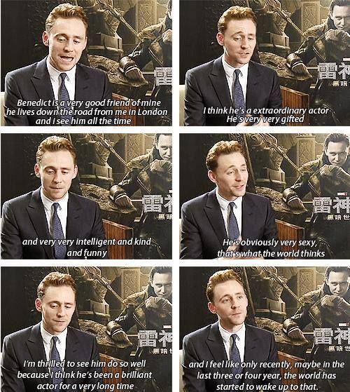 get sherl��ck on tom hiddleston benedict cumberbatch and
