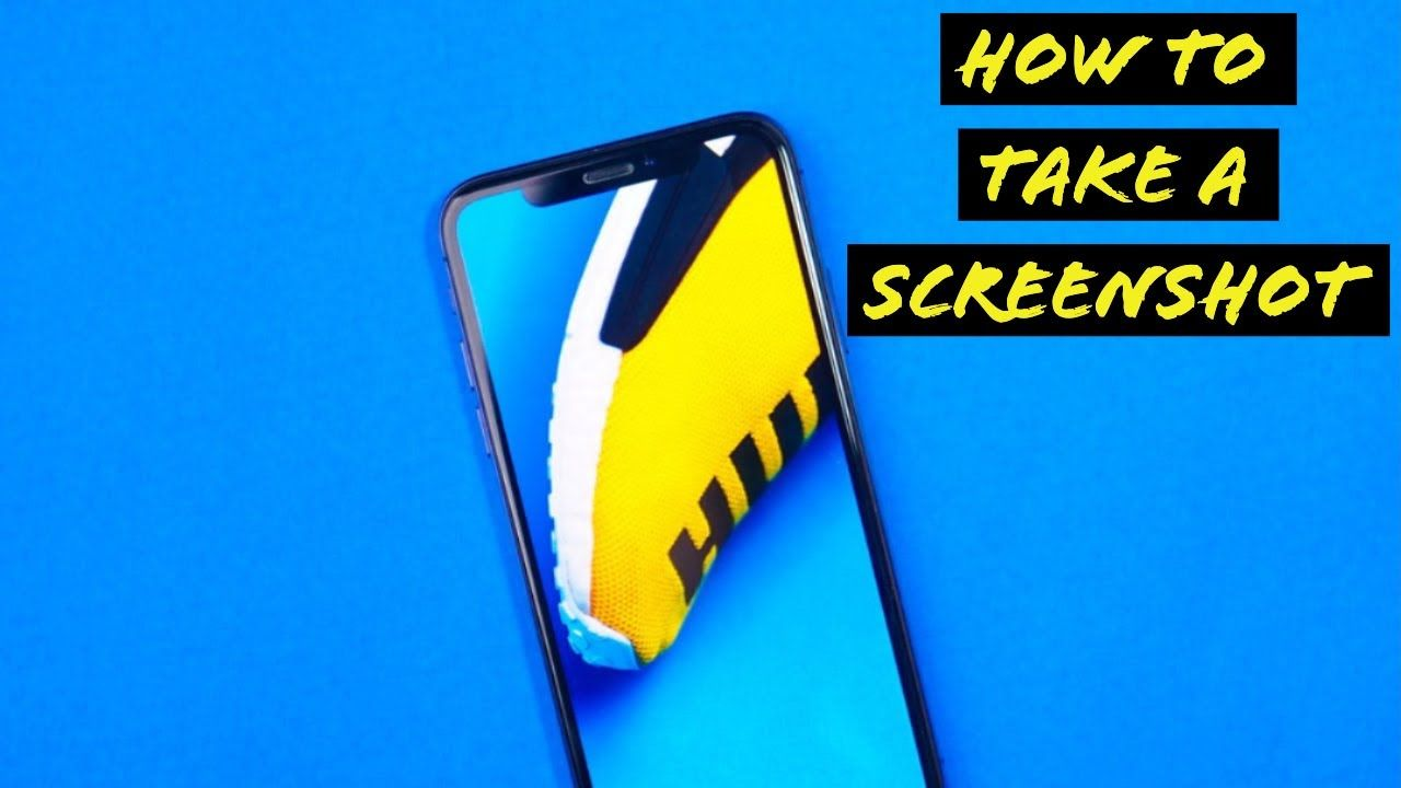 How to take a screenshot with iphone xr take a