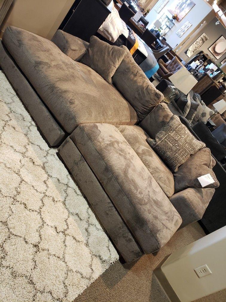Ashley Furniture 2 Piece Chaise Sectional Manzani Ashley