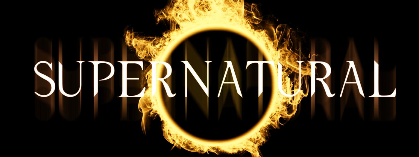 Color Supernatural Logo Supernatural Poster Supernatural Supernatural Beings