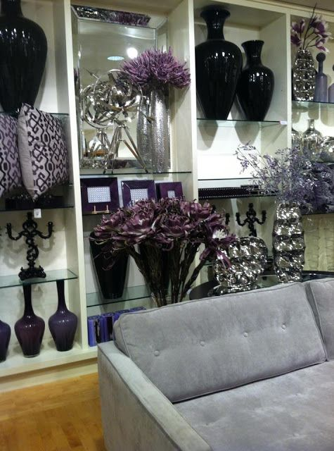 Focal Point Styling Silver Living Room Purple Living Room Black And Silver Living Room
