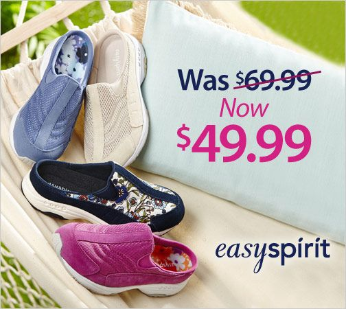 The going is easy wherever you go in Easy Spirit Women's Traveltime Clogs. Save on select styles.