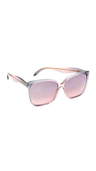 square shaped sunglasses - Pink & Purple Victoria Beckham 2USNeSa