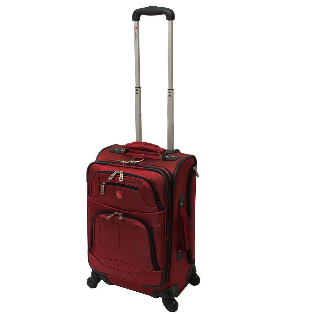3dd4ba1e244c Wenger Swiss Gear Zurich 20-inch Expandable Carry On Spinner Upright  Suitcase - Overstock™ Shopping - Great Deals on SwissGear Carry On Upright  Luggage