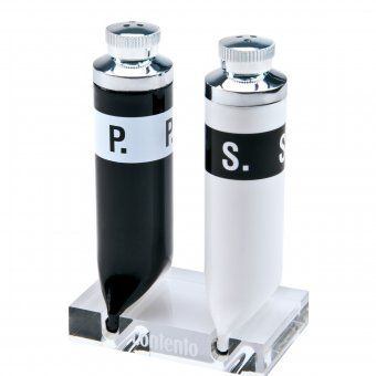 Contento Salt & Pepper Shaker Set P.S. black