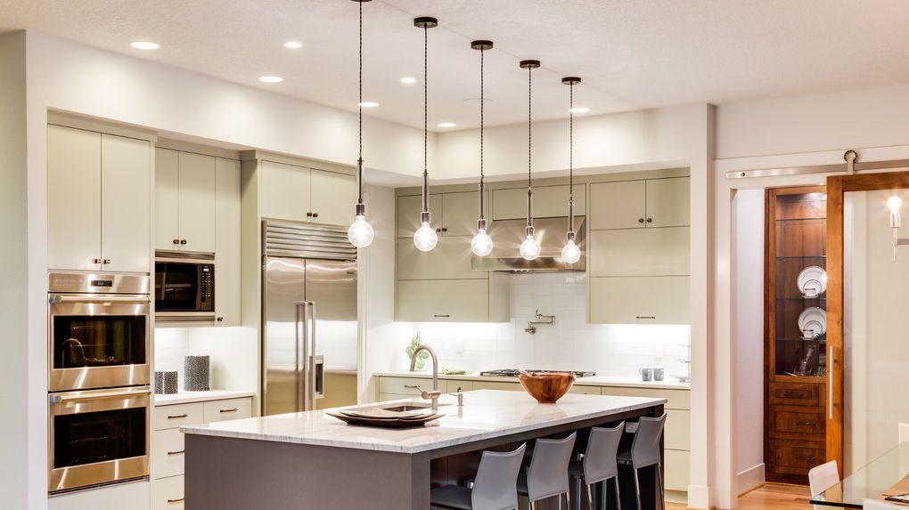 Afbeeldingsresultaat voor keukenverlichting keuken