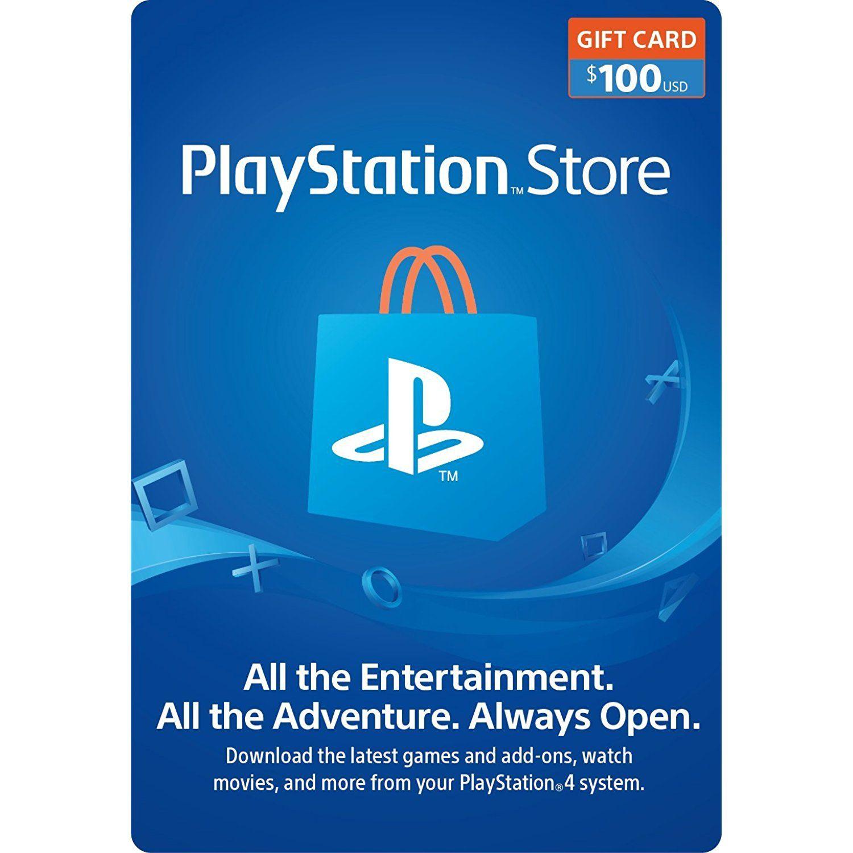 100 PlayStation Store Gift Card PS3/ PS4/ PS Vita