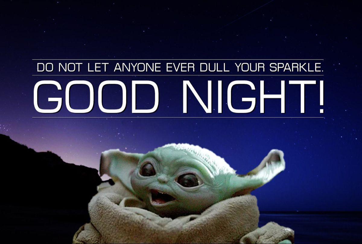 Pin By Dana Coburn On Funnies Yoda Funny Good Night Baby Haha Funny