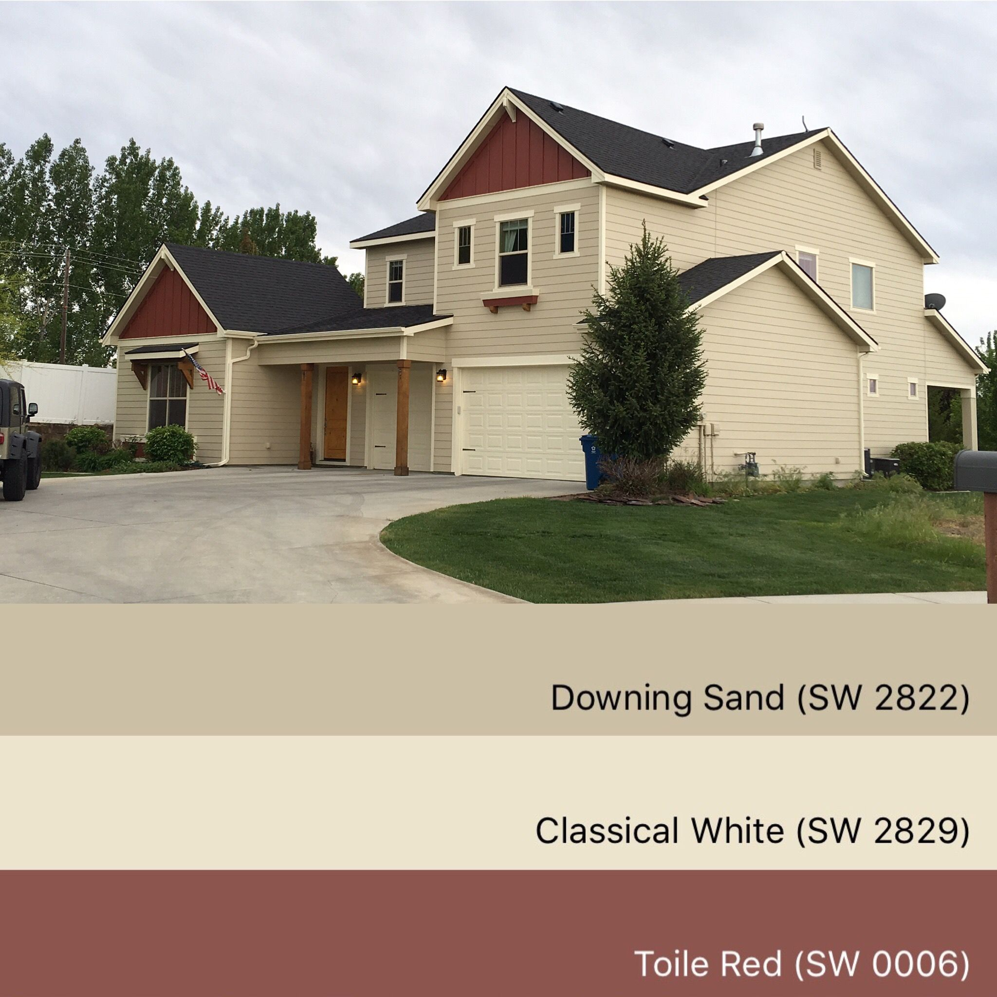 Taupe Exterior House Color Ideas: Pin By Paint Life TV On Trendy House Colors- Exterior