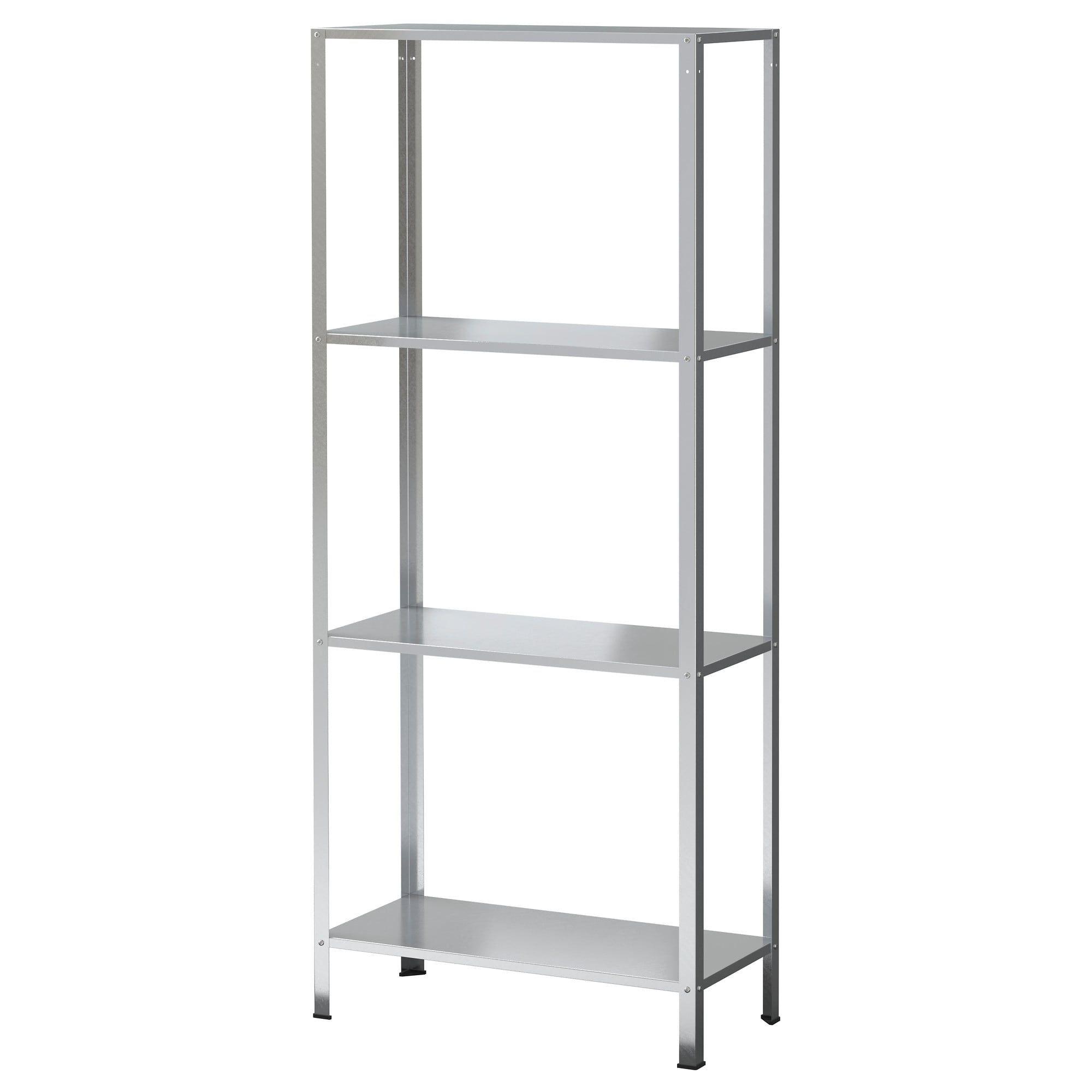 Hyllis Shelf Unit Ikea Add Wood Shelves For A Rustic Look And Paint It Black Ikea Shelves Ikea Shelves