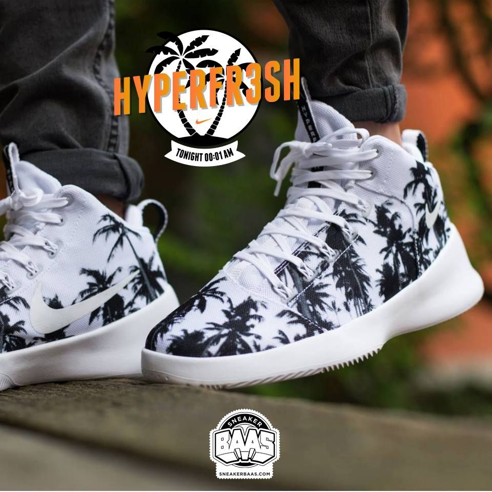 super popular 980c3 761e0  nike  air  airmax  airmaxone  airmax1  nikeblack  sneakerbaas  baasbovenbaas  Nike Hyperfresh QS - Tonight at 00 01 AM! For more in…