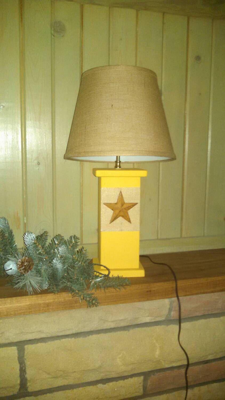 Wood Lamps Custom Made Rustic Primitive Lamps Wood Lamps Primitive Lamps Lamp
