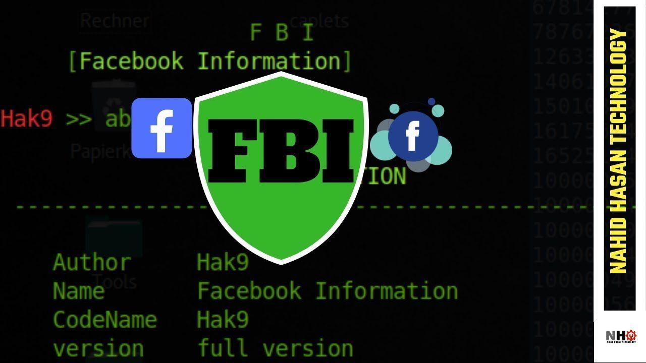 FBI-Facebook Information Gathering Tool [Bangla] | Kali