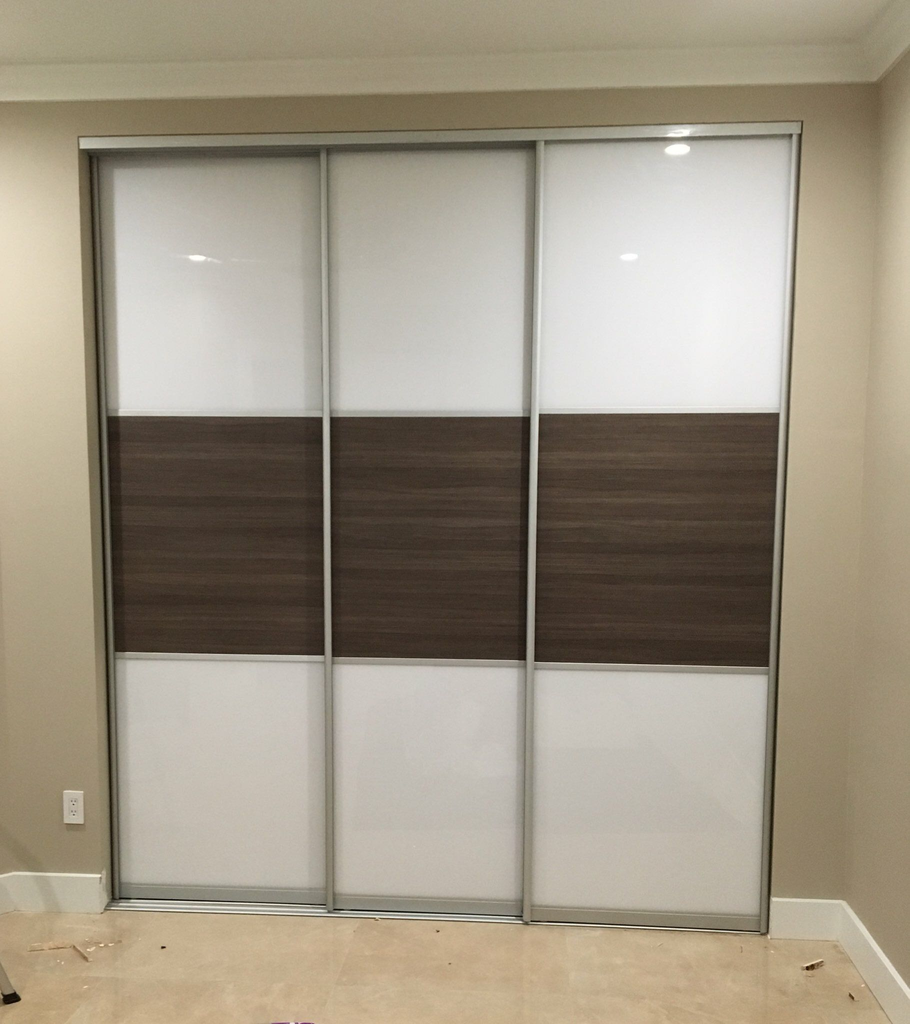 Pin By Closet Doors By Star Doors Com On Glass Sliding Doors 3 Panels Doors Modern Closet Doors Sliding Glass Door Closet Doors