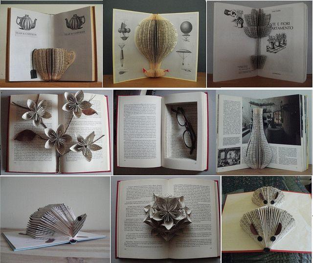 Wonderbaar Some ways to recycle old books (met afbeeldingen) | Boeken QL-05