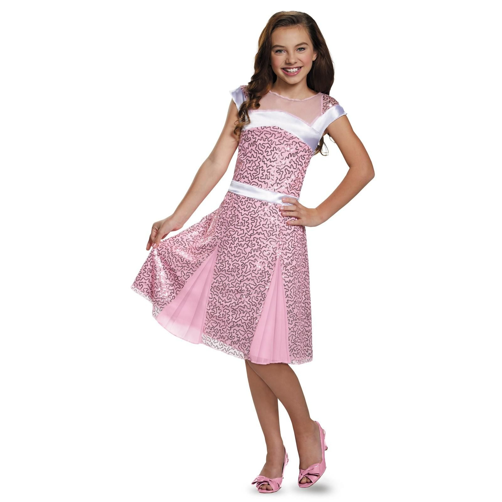 Licensed Disney Descendant Mal Coronation Deluxe Child Girls Halloween Costume