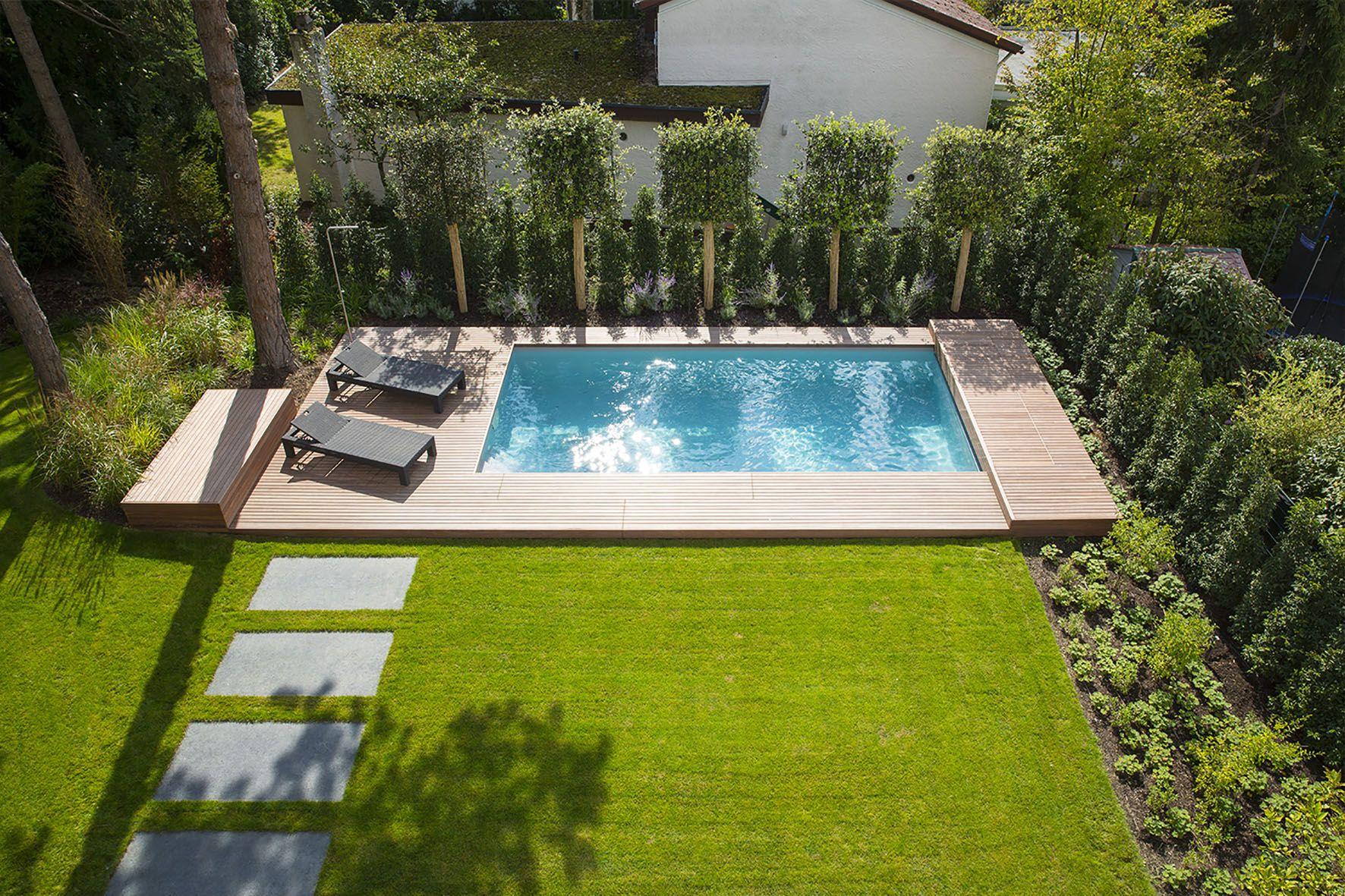 AuBergewohnlich Auch Wer über Wenig Platz Verfügt Oder Auch Ein Kleines Budget Zur  Verfügung Hat Kann Mit Pools Für Kleine Gärten Seinen Traum Verwirklichen