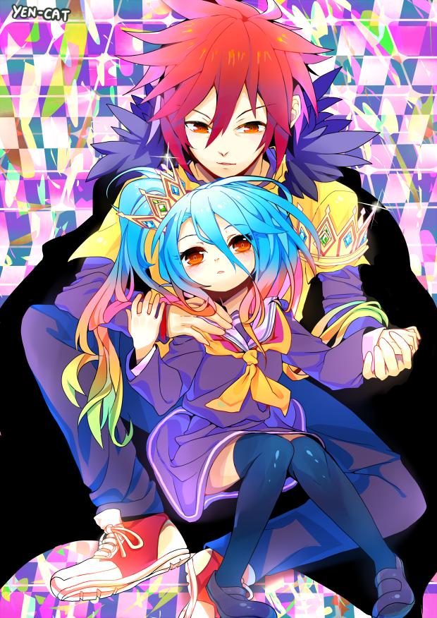 No Game No Life Sora Shiro DA Anime, No game no