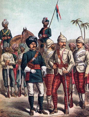 Image result for old indian army