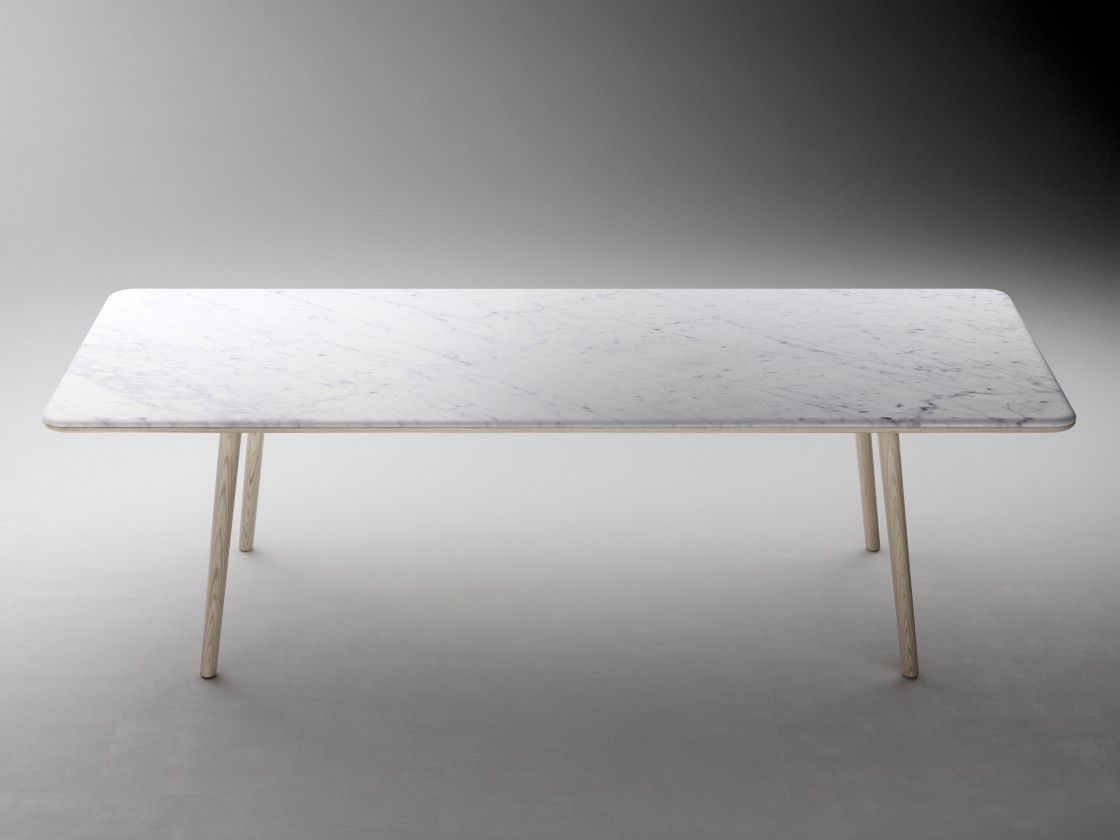 Delightful Rectangular Marble Dining Table Half Bullnose Edge Top Profile Design With H Modern Marble Dining Tables Dining Table Marble Marble Top Dining Table