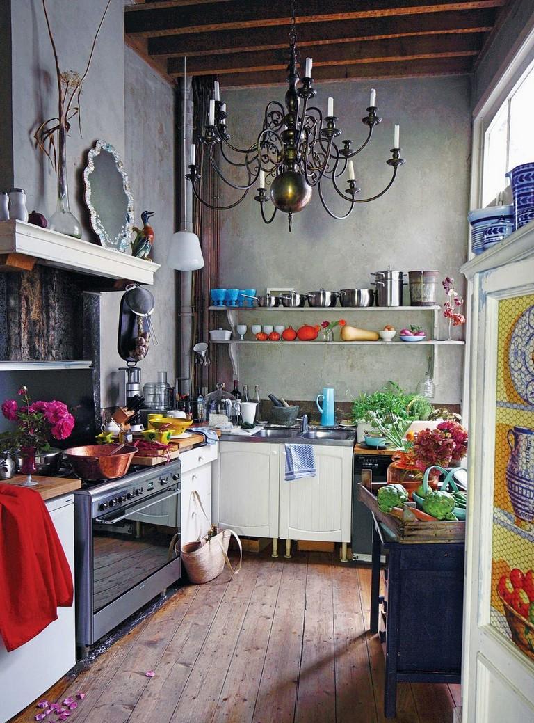 50 best modern bohemian style kitchen design ideas in 2020 eclectic kitchen eclectic kitchen on boho chic home decor kitchen id=19630