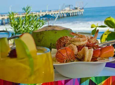 Salvadorean seafood