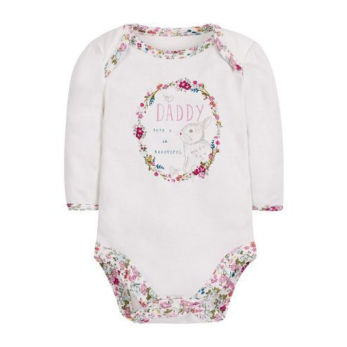 B Newborn S Beautiful Bunny Bodysuit Onesie Size 3 6 Months