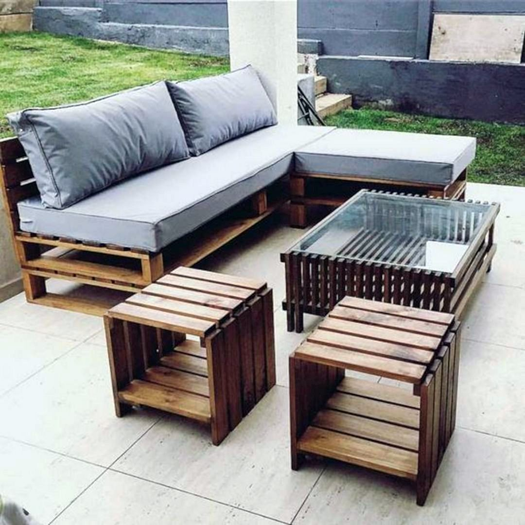 Photo of 12 Attractive Wooden Pallet Furniture Idea That Is Easy For You To Make