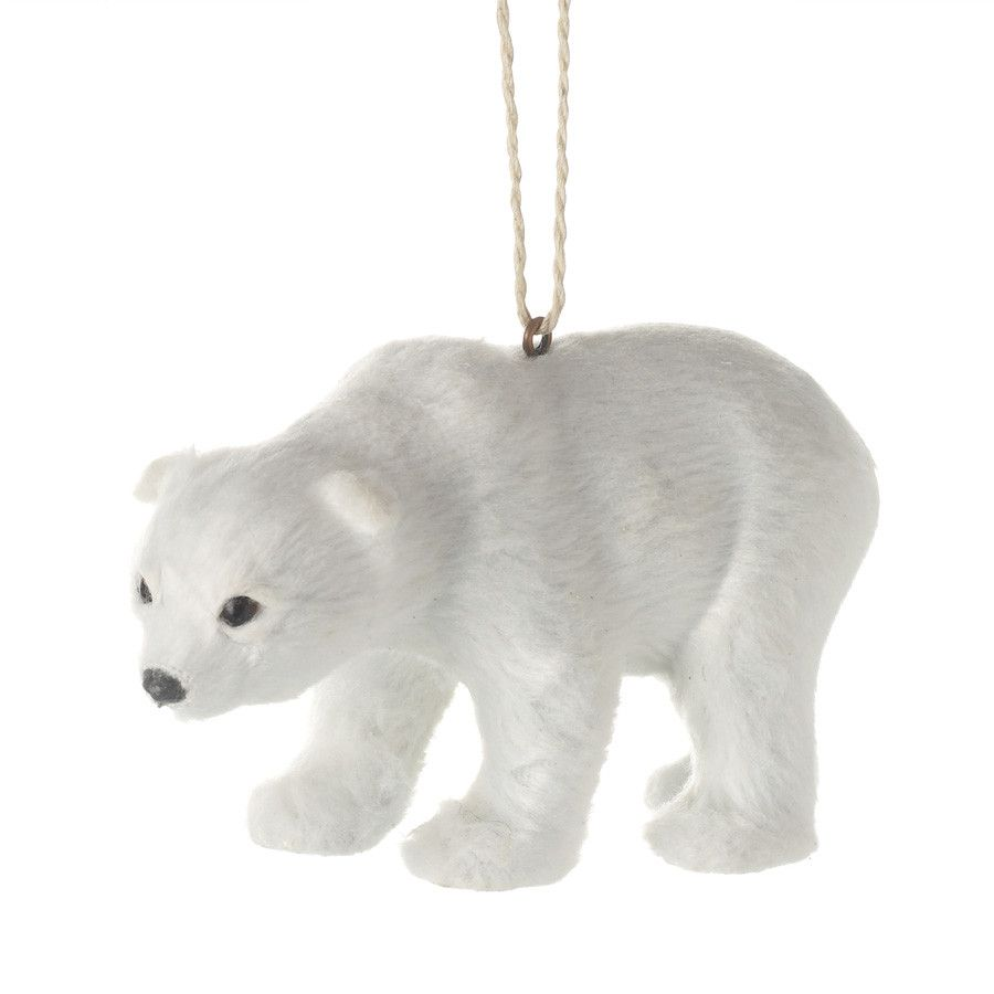 Festive Hanging Polar Bear from The Farthing