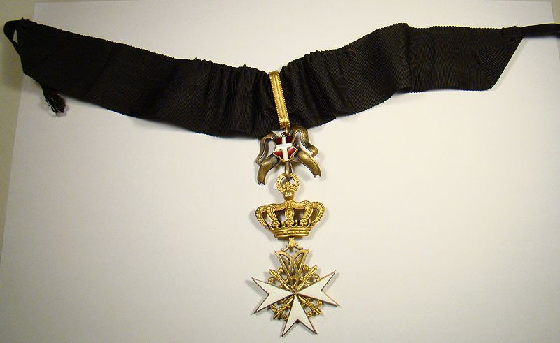 Cross of a Donat (male) of Devotion. #OrderofMalta #SMOM