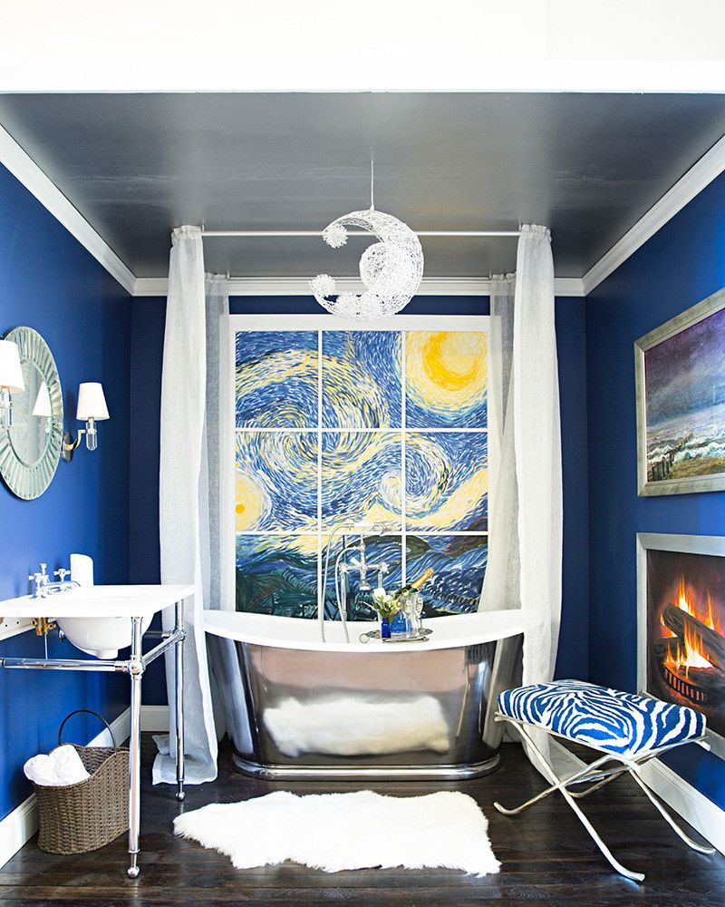 rooms with a view with images  blue bathroom decor