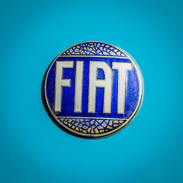 1938 Fiat 508c Berlinetta Speciale Emblem By Jill Reger Fiat Fiat Logo Emblems