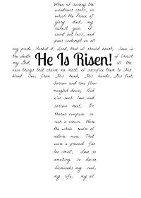 photograph about He is Risen Printable identified as A Humble Production: He Is Risen! Absolutely free Printable. The words and phrases