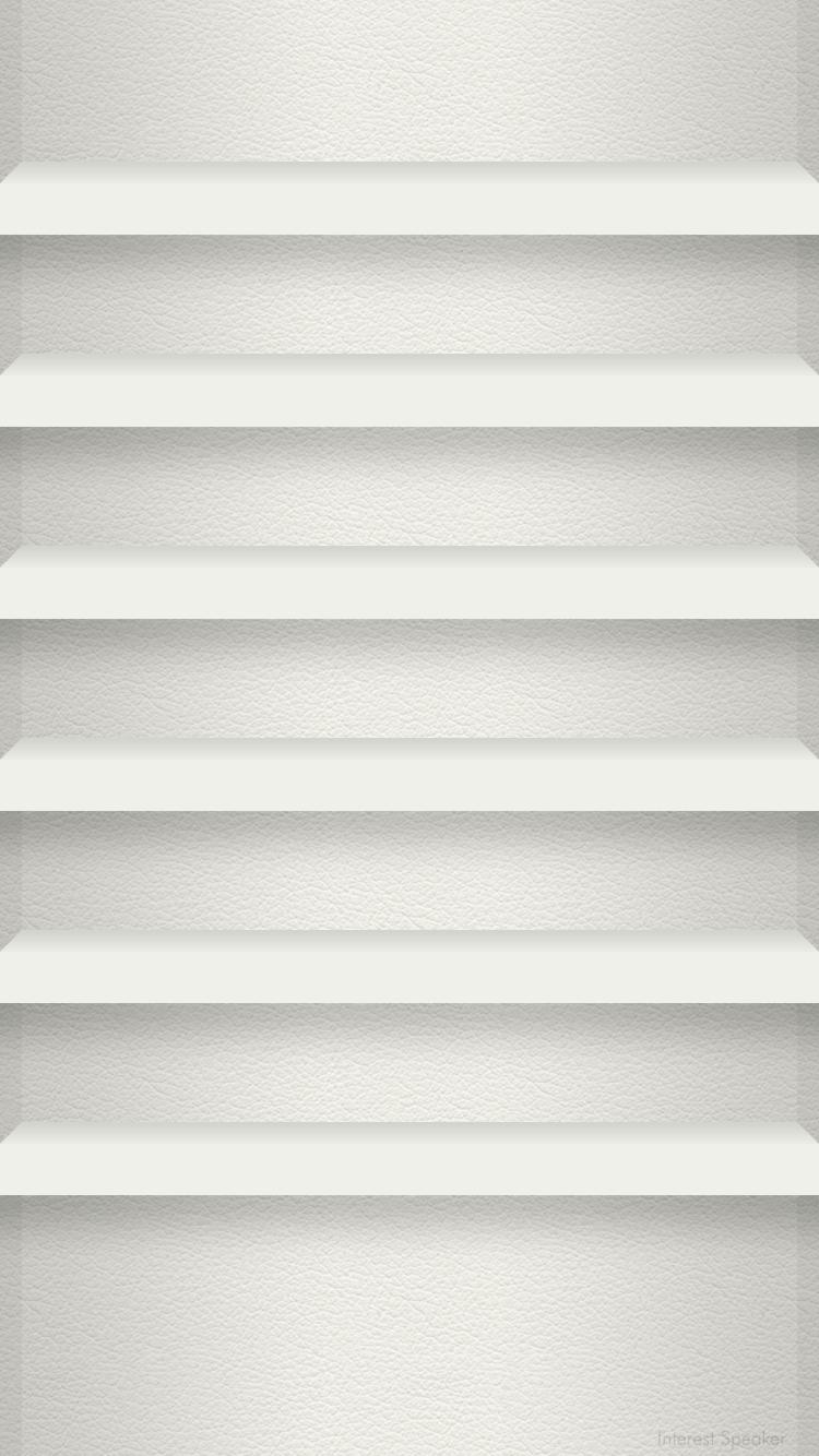 Iphone 6 ホーム画面用 750 1334px 棚っぽい壁紙 壁紙 壁紙 本棚