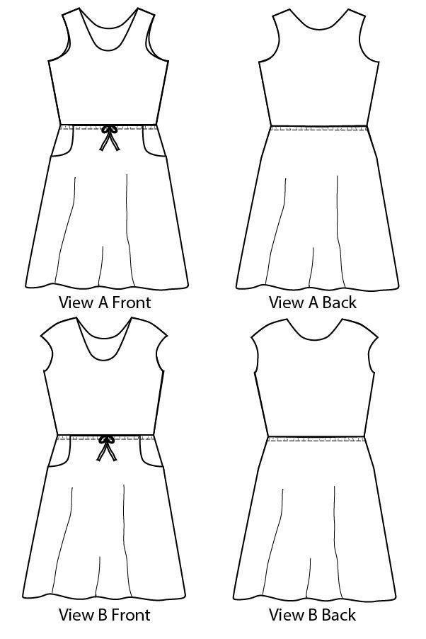 Catalina Dress | patrones | Pinterest | Dress patterns, Sewing ...