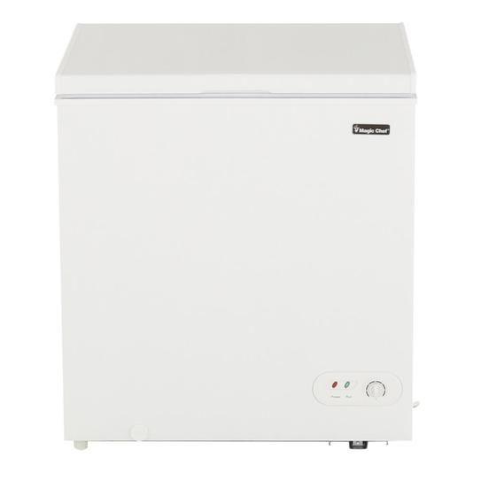 Magic Chef 5 2 Cu Ft Chest Freezer In White Hmcf5w2 The Home Depot Chest Freezer Magic Chef Appliance Delivery