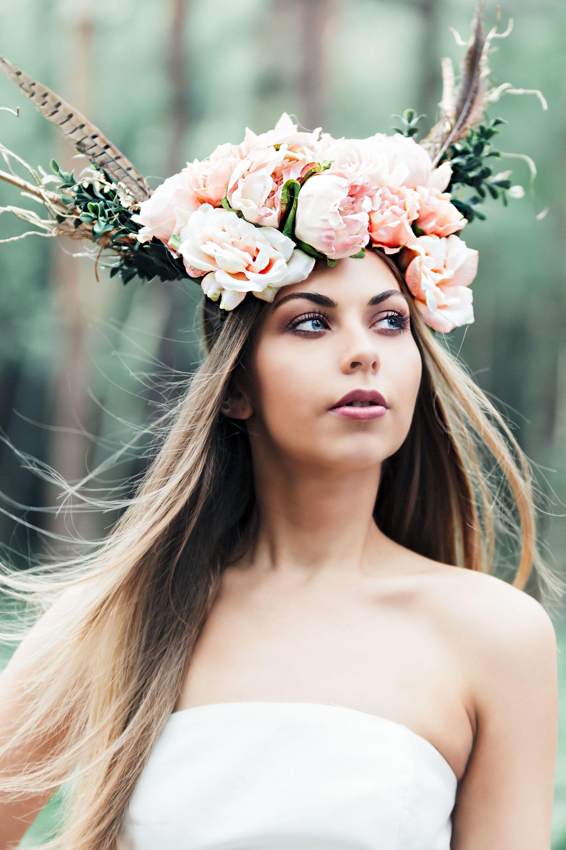 The Perfect Bridal Flower Crown By Aurelia Crown Aurelia Allen