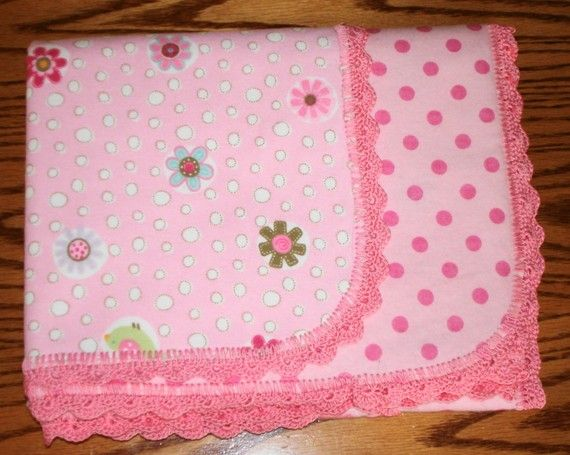 Crochet Edging For Baby Blankets Flannel Baby Blanket With