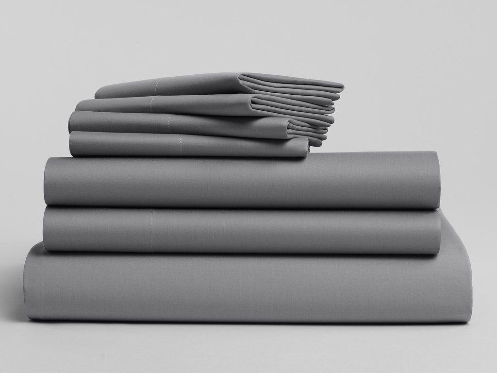 A Brooklinen Clic Core Sheet Set Plus 1 Duvet Cover 2 Extra Pillowcases