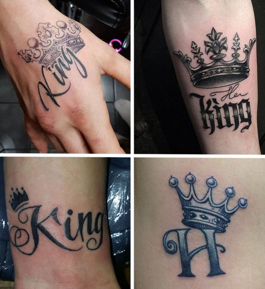 King And Queen Tattoos Best Couple Tattoo Ideas Tattoo Styles Tattoos For Guys Best Couple Tattoos