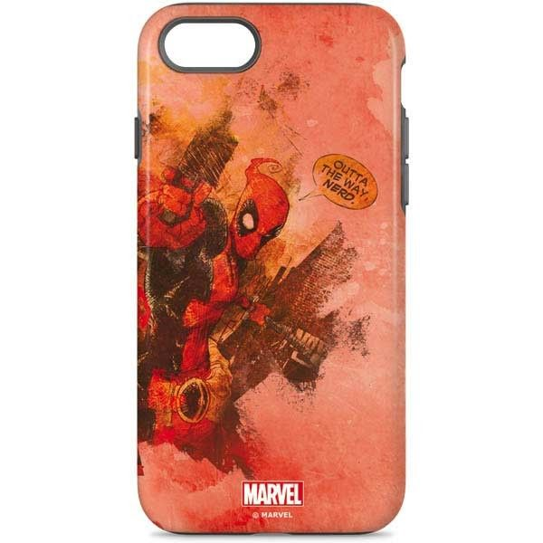 b953267de6b7 Represent your favorite Marvel character with our Deadpool Nerd iPhone 7 Pro  Case. The Deadpool